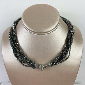 Premier Designs 9 Strand Beaded Necklace
